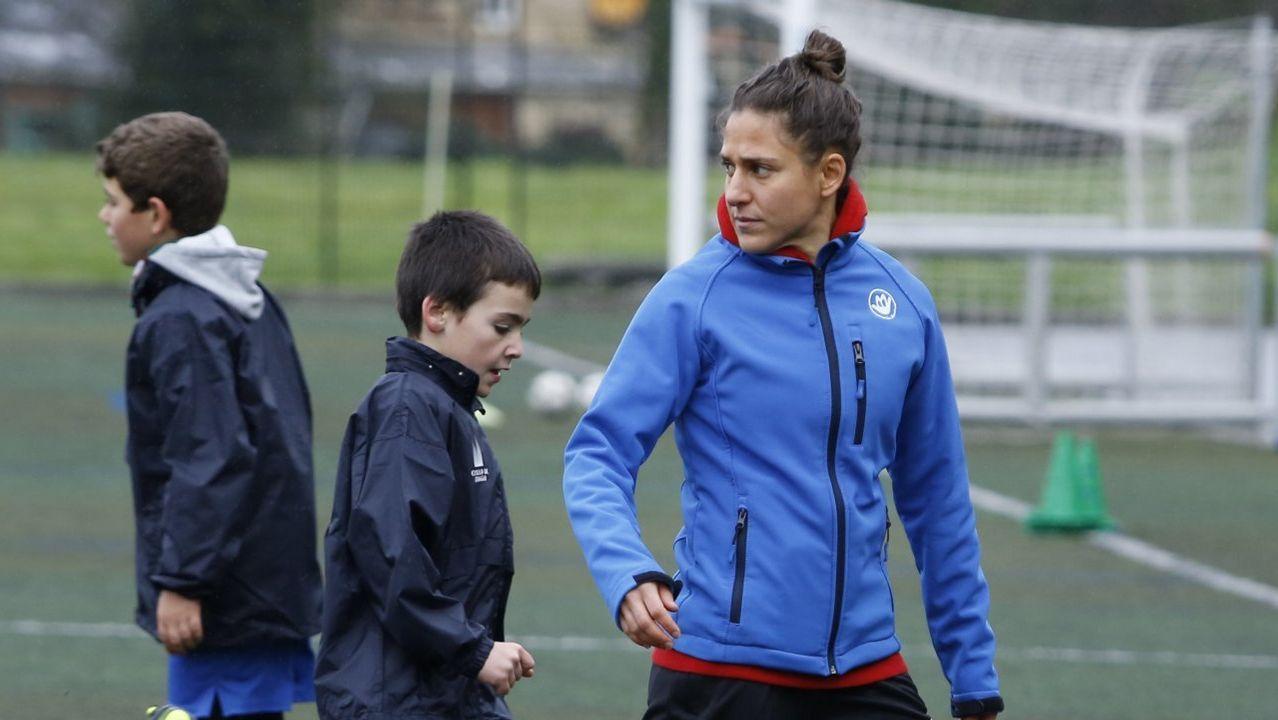 Vero Boquete y Tere Abelleira: «Será mejor que yo, seguro».Vero Boquete, en una imagen reciente en Galicia