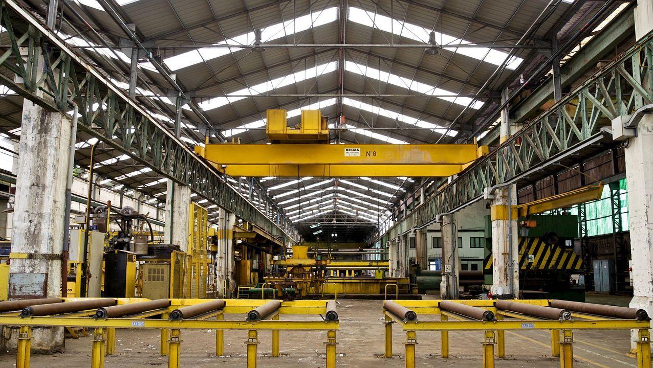 Uno de los buques logísticos australianos, en construcción en Navantia Ferrol