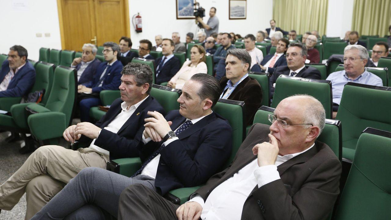 Antes de la pandemia las Xornadas Técnicas Expomar reunían a Burela a dirigentes y profesionales del sector, como en la edición del 2019