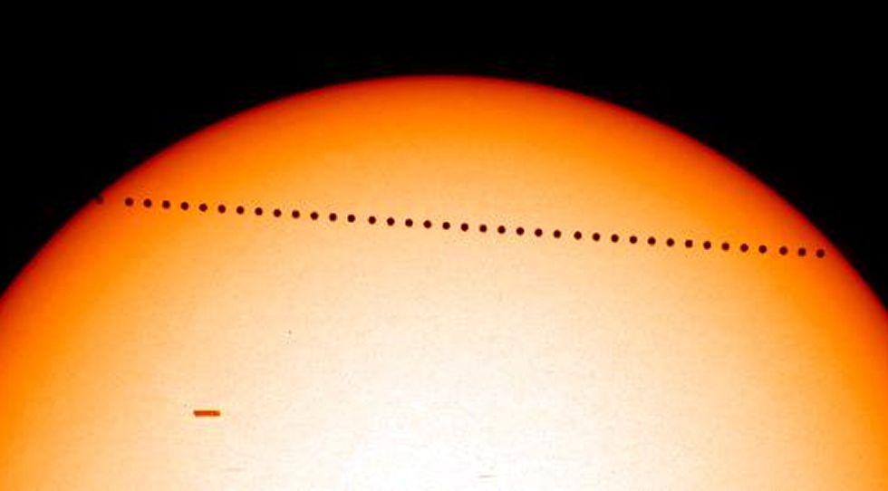 ¿Cómo puedo ver el tránsito de Mercurio?
