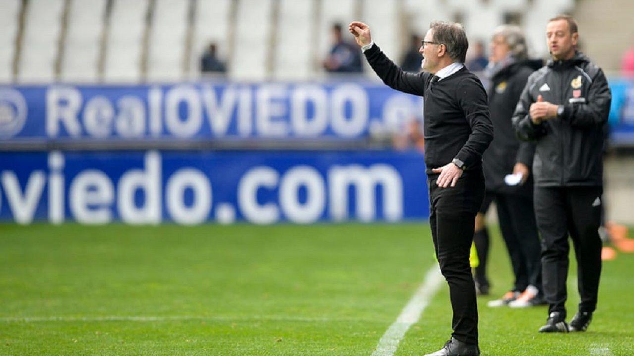 Las mejores imágenes del Deportivo - Almería.Juan Antonio Anquela durante el Oviedo-Nàstic