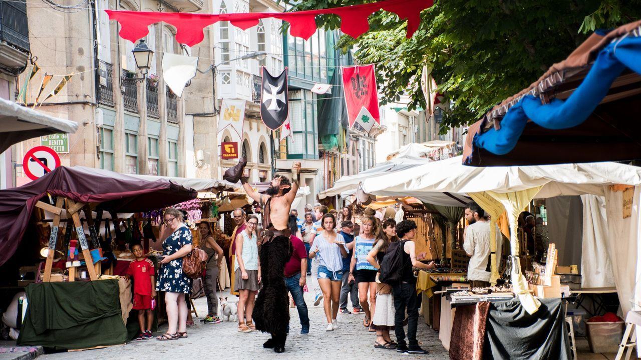 Este año la feria contará con más de 90 puestos de productos y artesanía medieval
