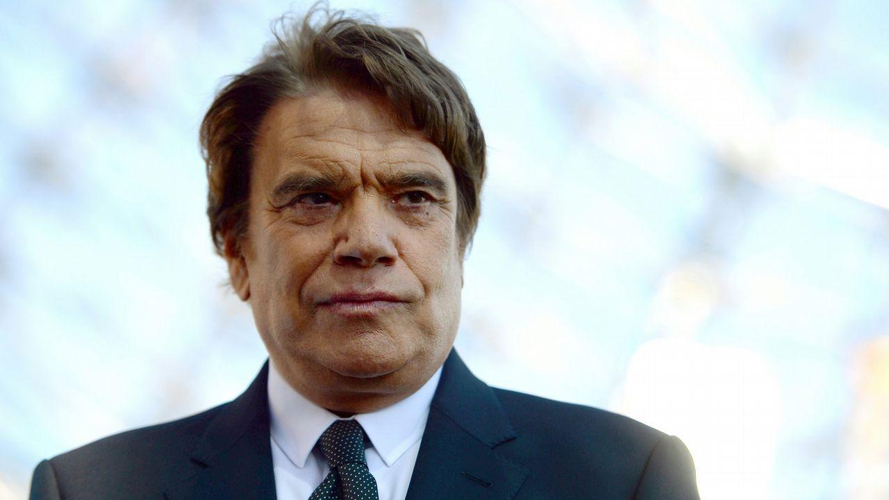 Bernard Tapie, expresidente del Marsella