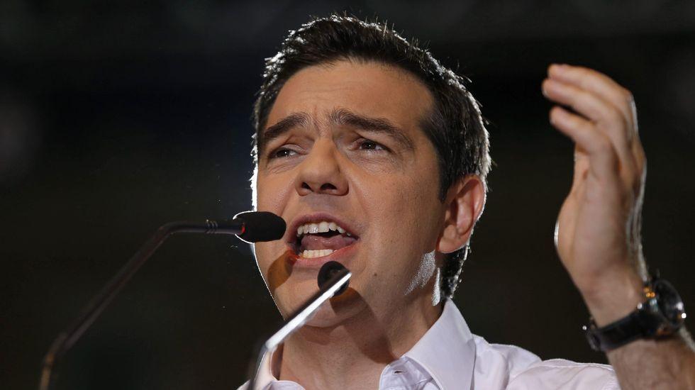 Ambos líderes se mostraron abiertos a escuchar las propuestas del gobierno liderado por Alexis Tsipras