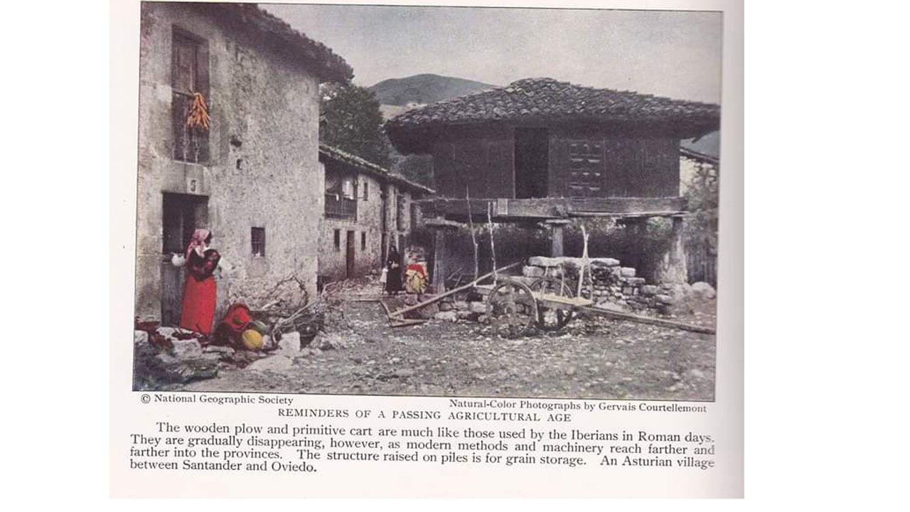 Así se fomentaba el turismo asturiano en los años 30.Xoel López actuó en la presentación de la campaña turística de Galicia