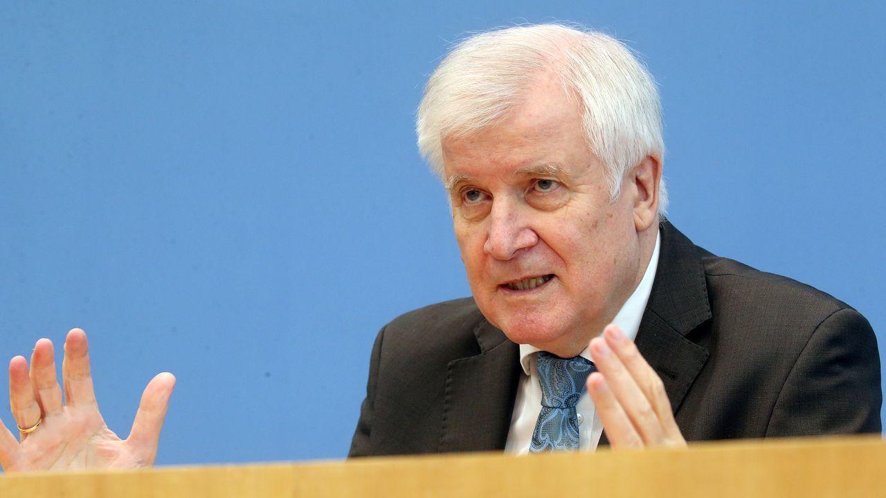 El ministro de Interior alemán, Horst Seehofer