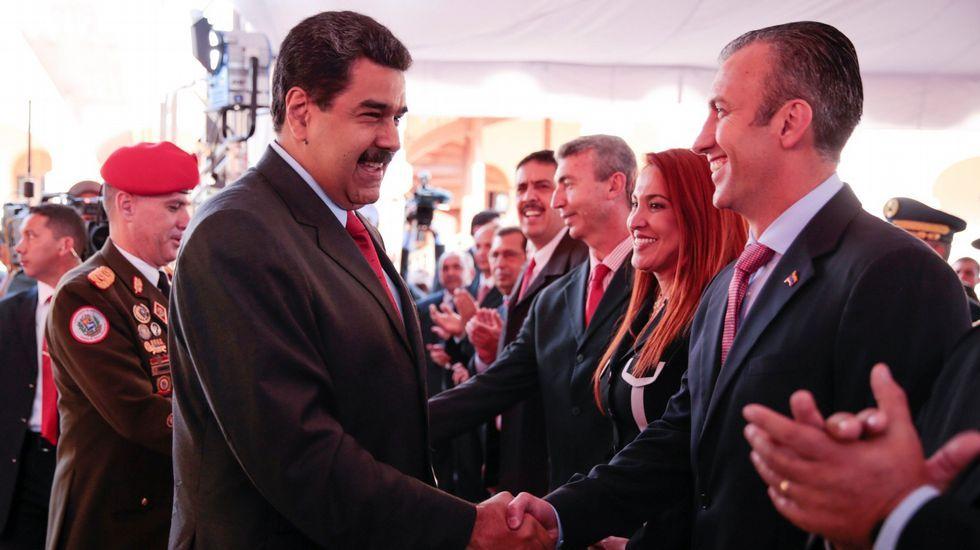Maduro y El Aissami.