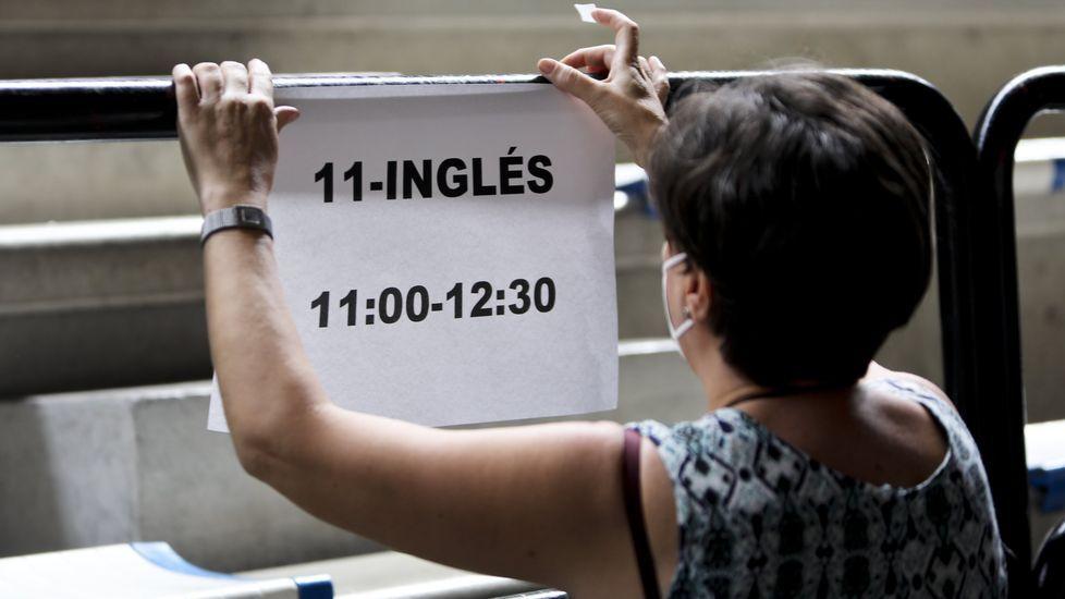 El de Inglés fue el examen de la fase general con más suspensos