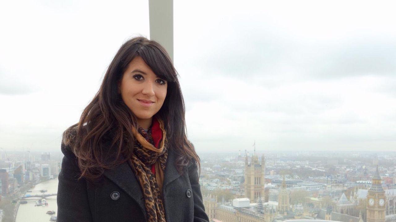 Gloria González en Londres