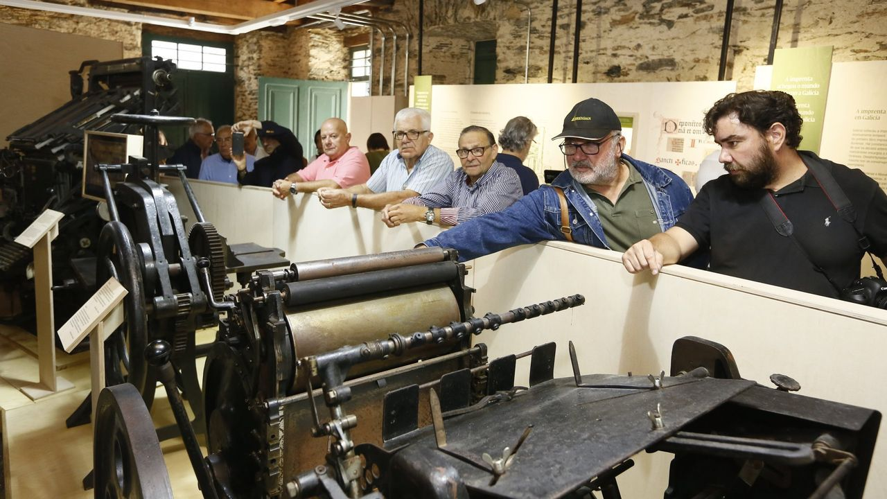 O éxito do Fuciño do Porco.El Museo da Imprenta abrió sus puertas en 2019