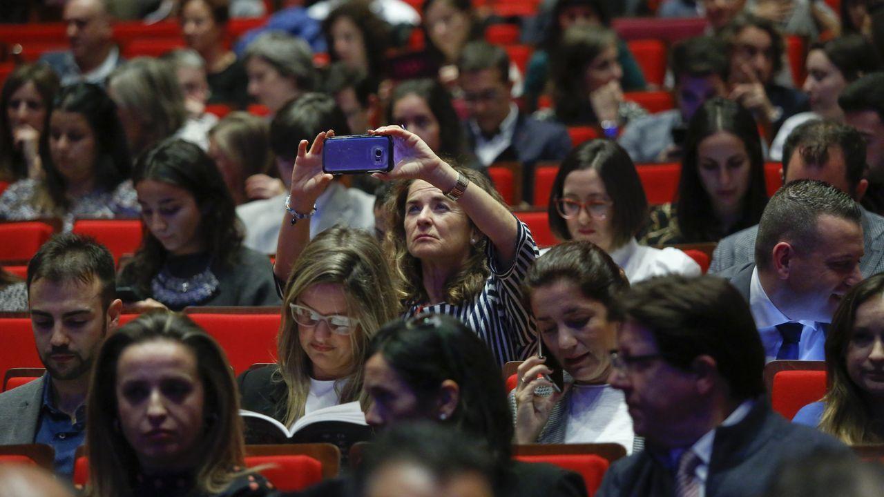 Así está siendo el Talentia Summit 2019 en Santiago.Pablo Junceda