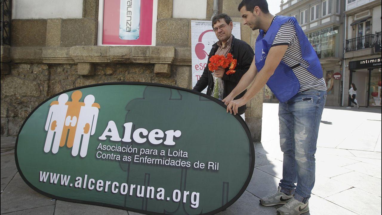 Actos del día del donante en A Coruña