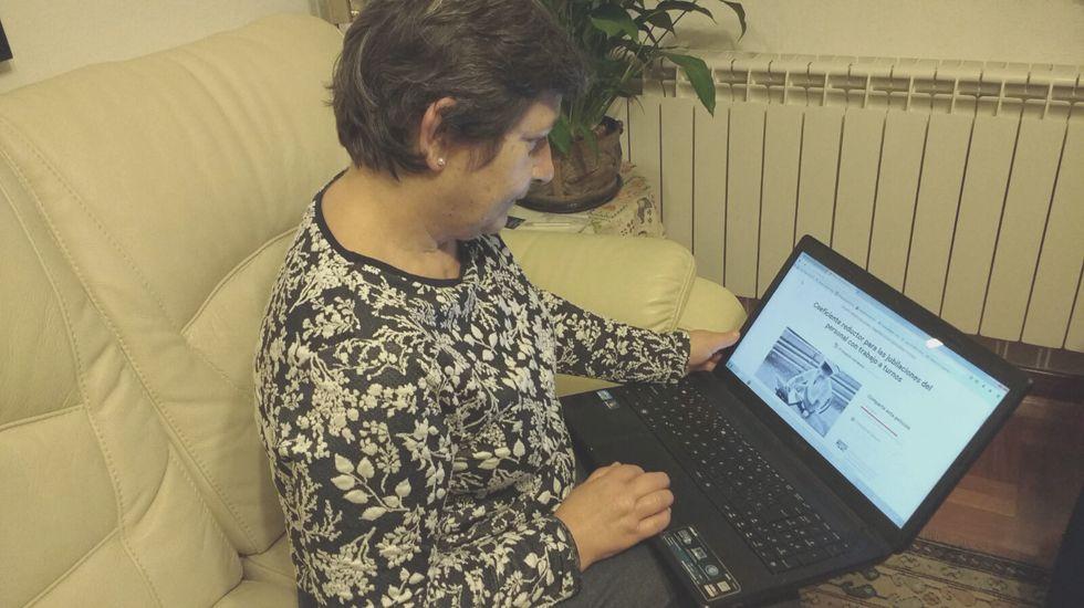 Concha Lledó muestra su campaña en Change.org