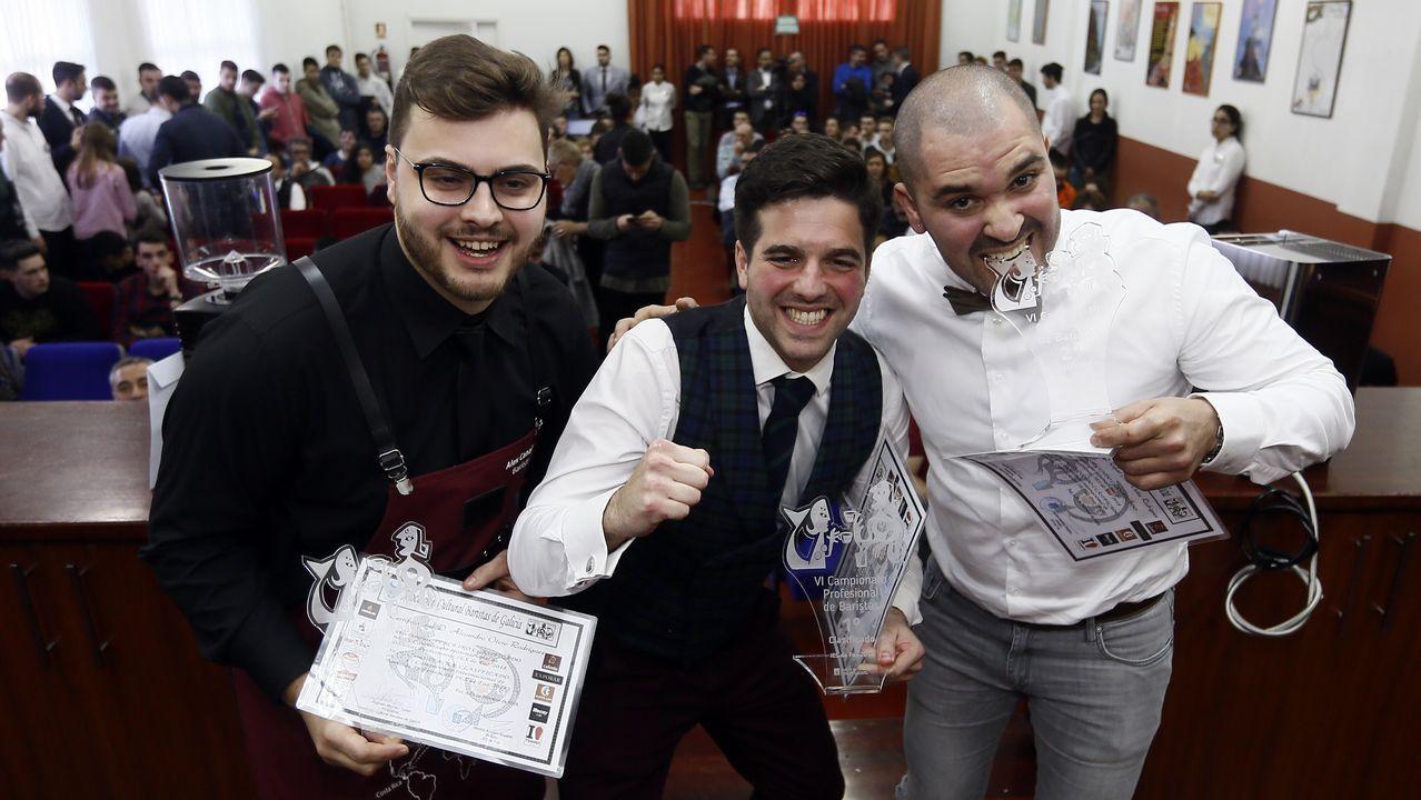 Todas las imágenes del Concurso de Baristas de Foz