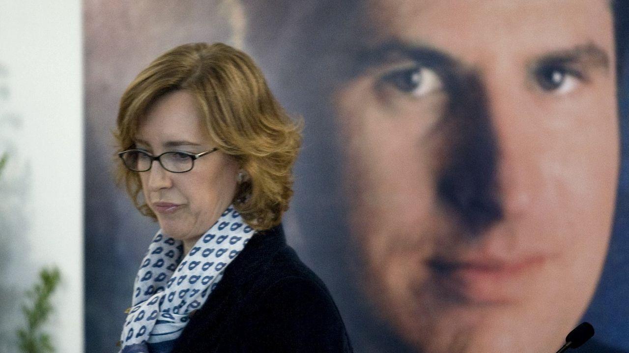 La presidenta de la Fundación Ordóñez y viuda del político del PP asesinado, Ana Iríbar