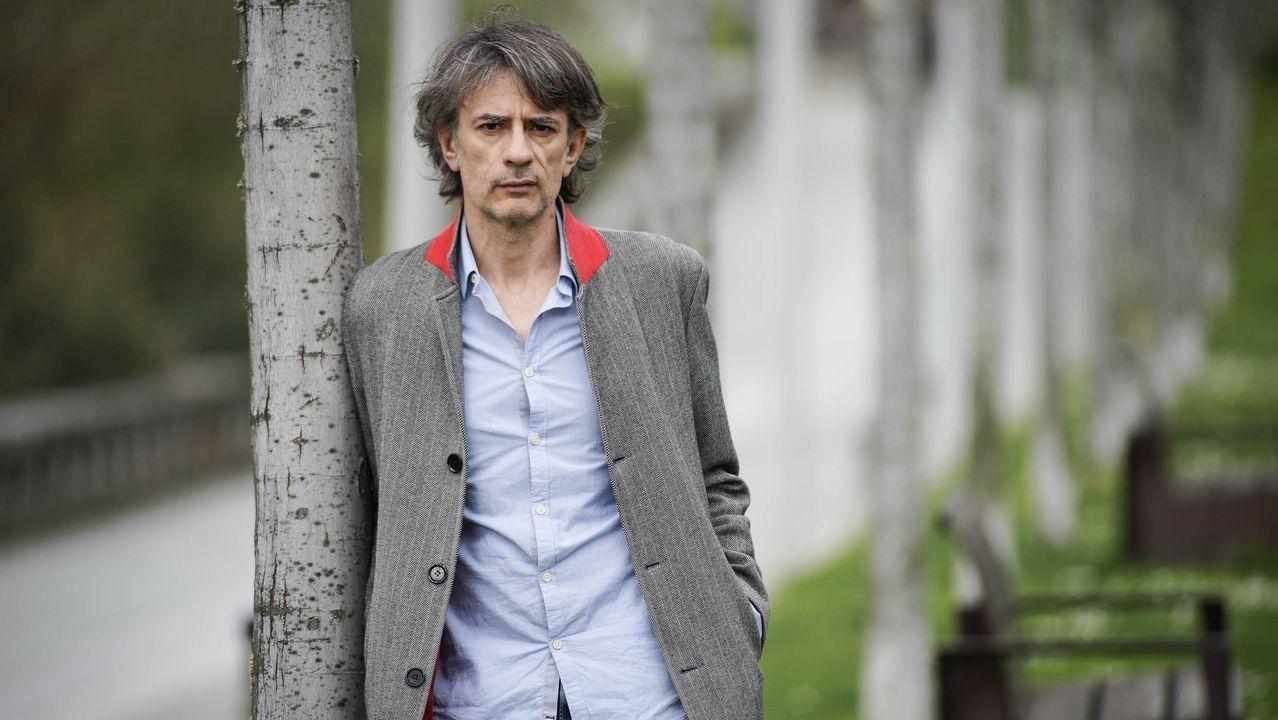 El autor ourensano Juan Tallón acaba de publicar «Rewind»