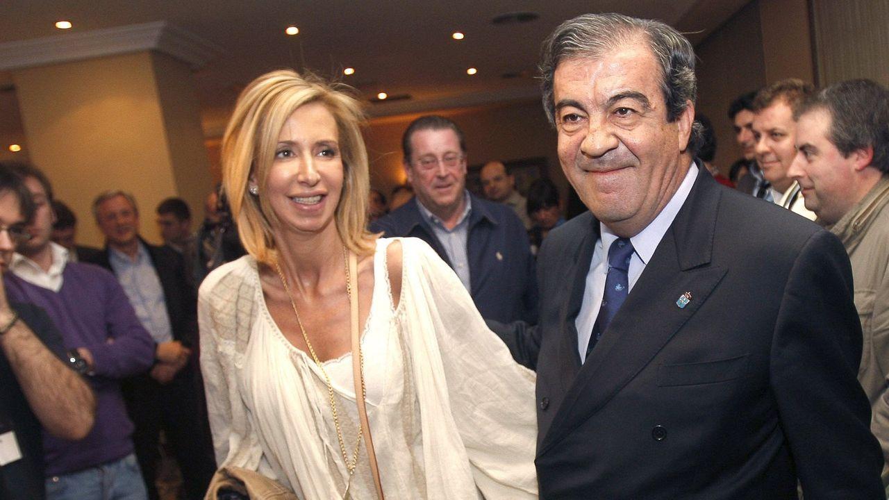 Así está siendo el Talentia Summit 2019 en Santiago.Firma del acuerdo entre Alimerka, El Corte Inglés, MasyMas y Mercadona y la Cámara de Comercio para impulsar el comercio en Oviedo