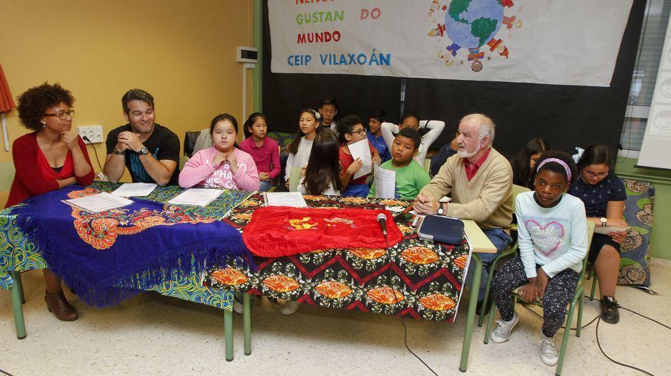En el colegio de Vilaxoán, ser diferente se celebra
