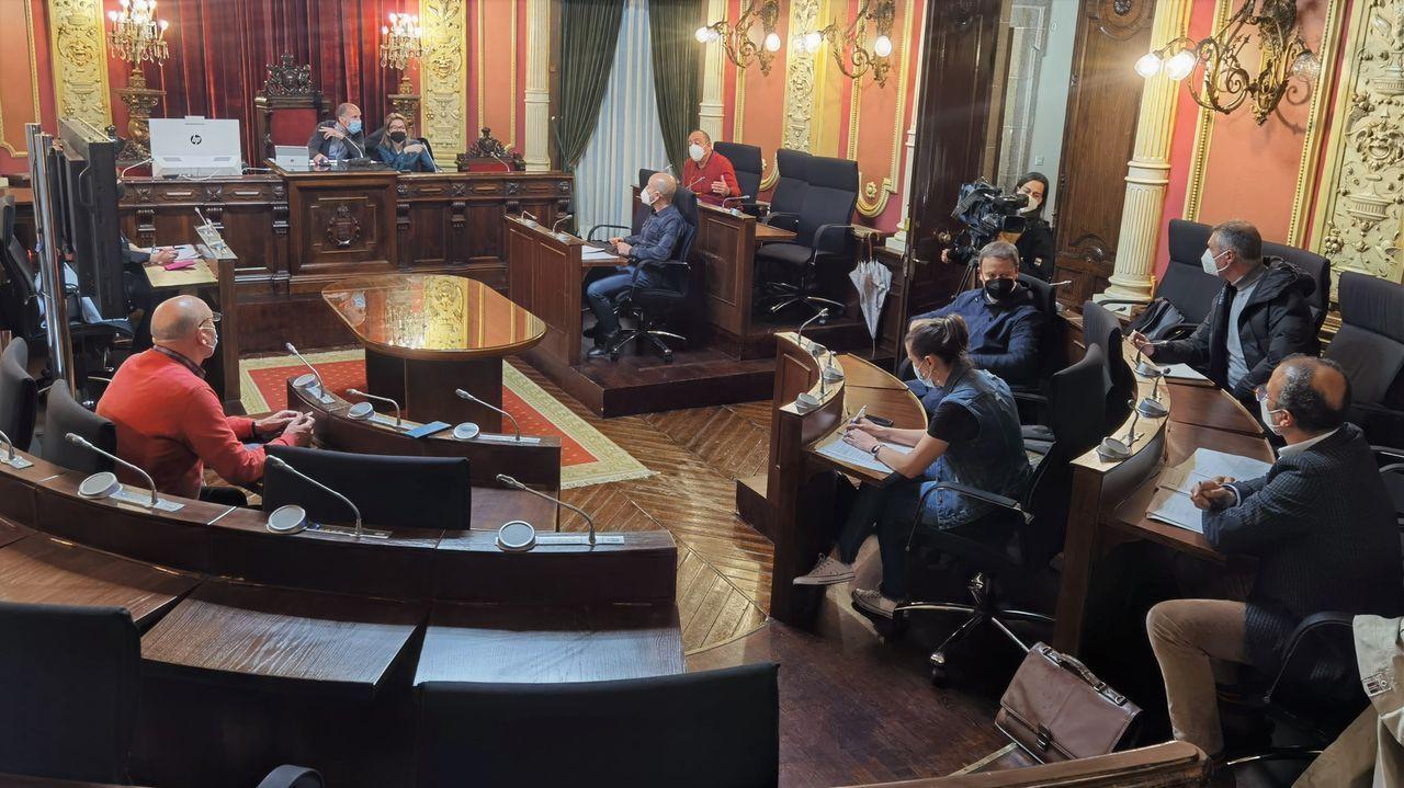 Reunión de la comisión municipal de investigación