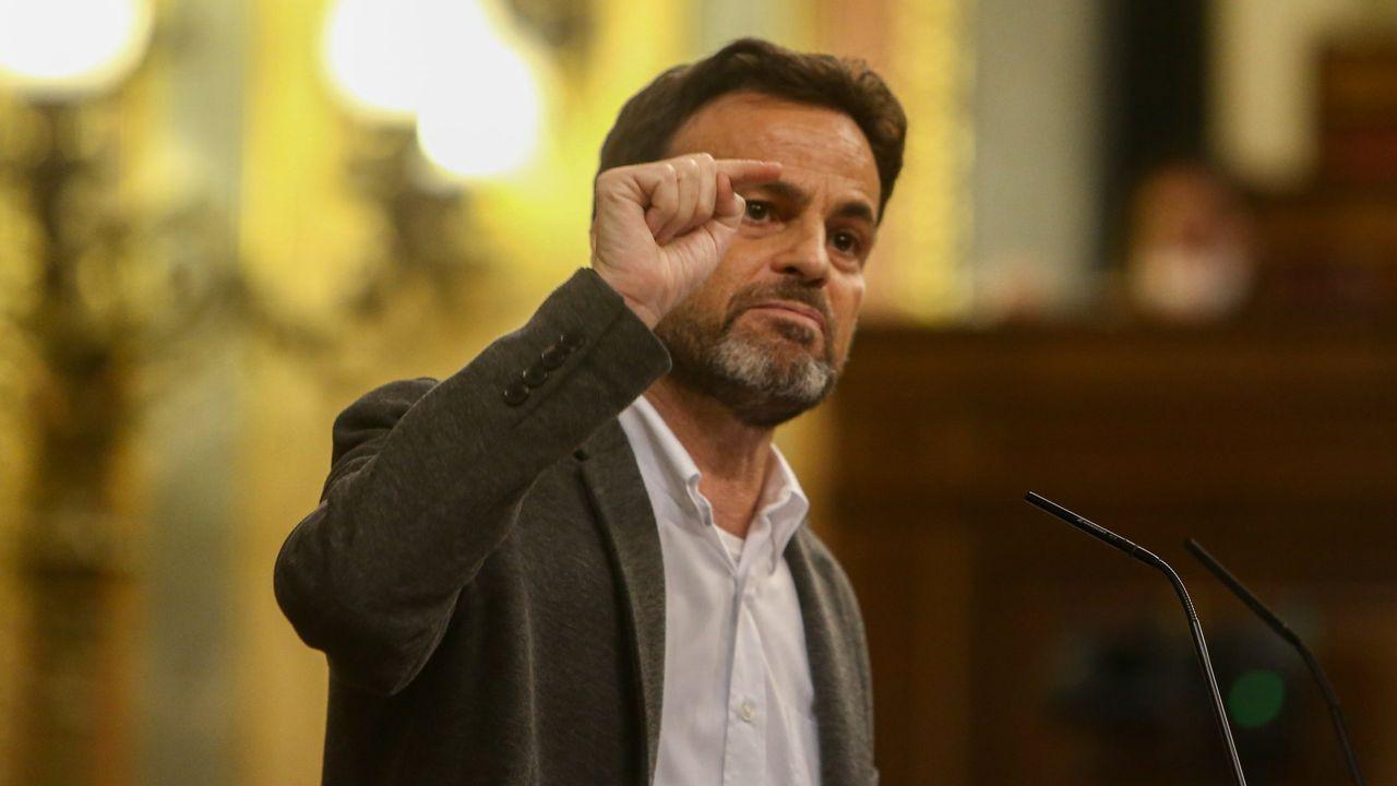 Jaume Asens, presidente del grupo Unidas Podemos en el Congreso