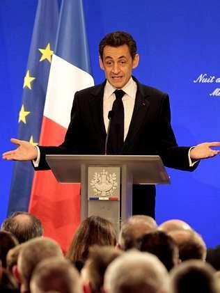 Sarkozy, el domingo, durante un discurso en Metz.