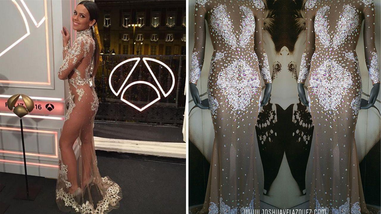 El vestido de Pedroche del 2016 y el creado por Joshua Velázquez