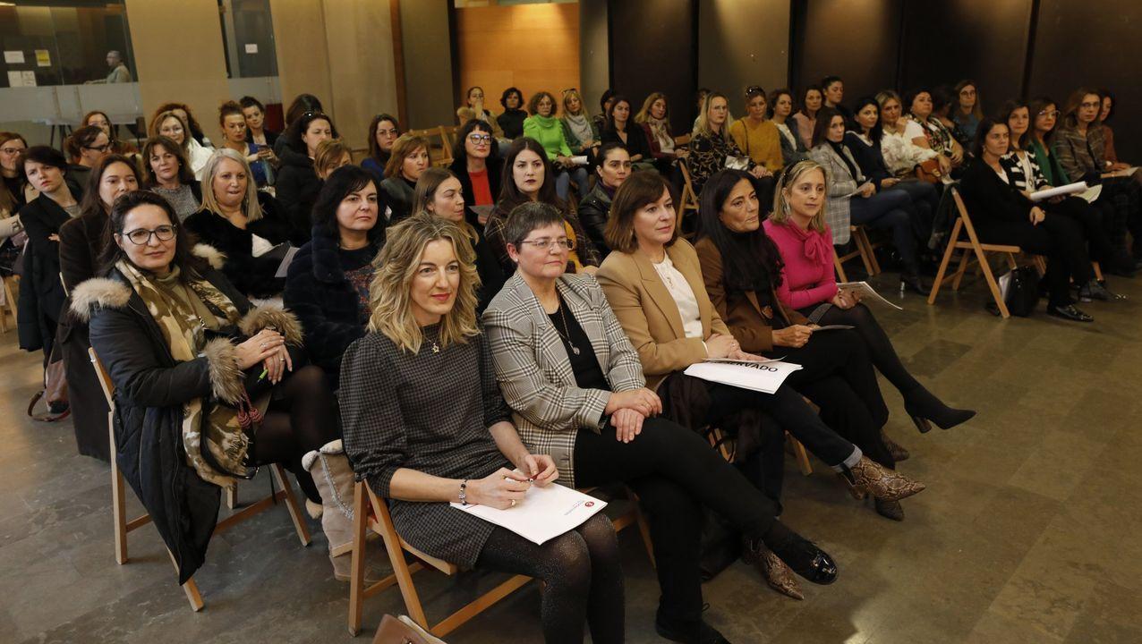 La asociación Executivas de Galicia fue presentada en Viveiro, en imagen, el pasado enero