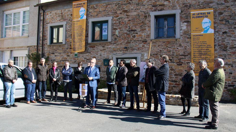 En Valdeorras hace meses que se colocaron los mojones del Camiño de Inverno