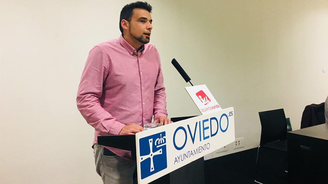 Iván Álvarez, concejal del Ayuntamiento de Oviedo
