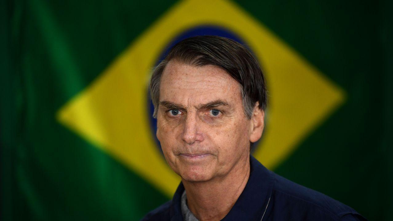 El ultra Bolsonaro, favorito de las encuestas en las elecciones brasileñas