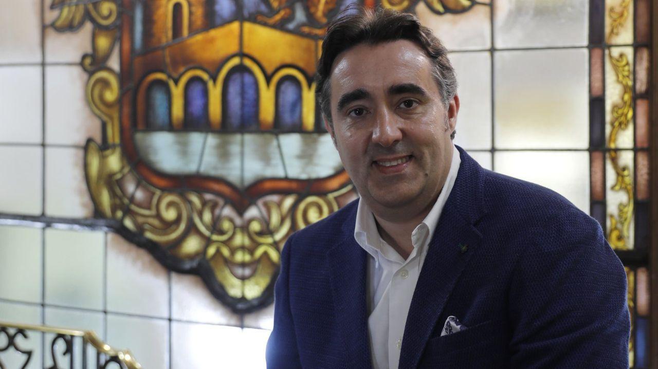 Jorge Pumar, teniente de alcalde del Concello de Ourense