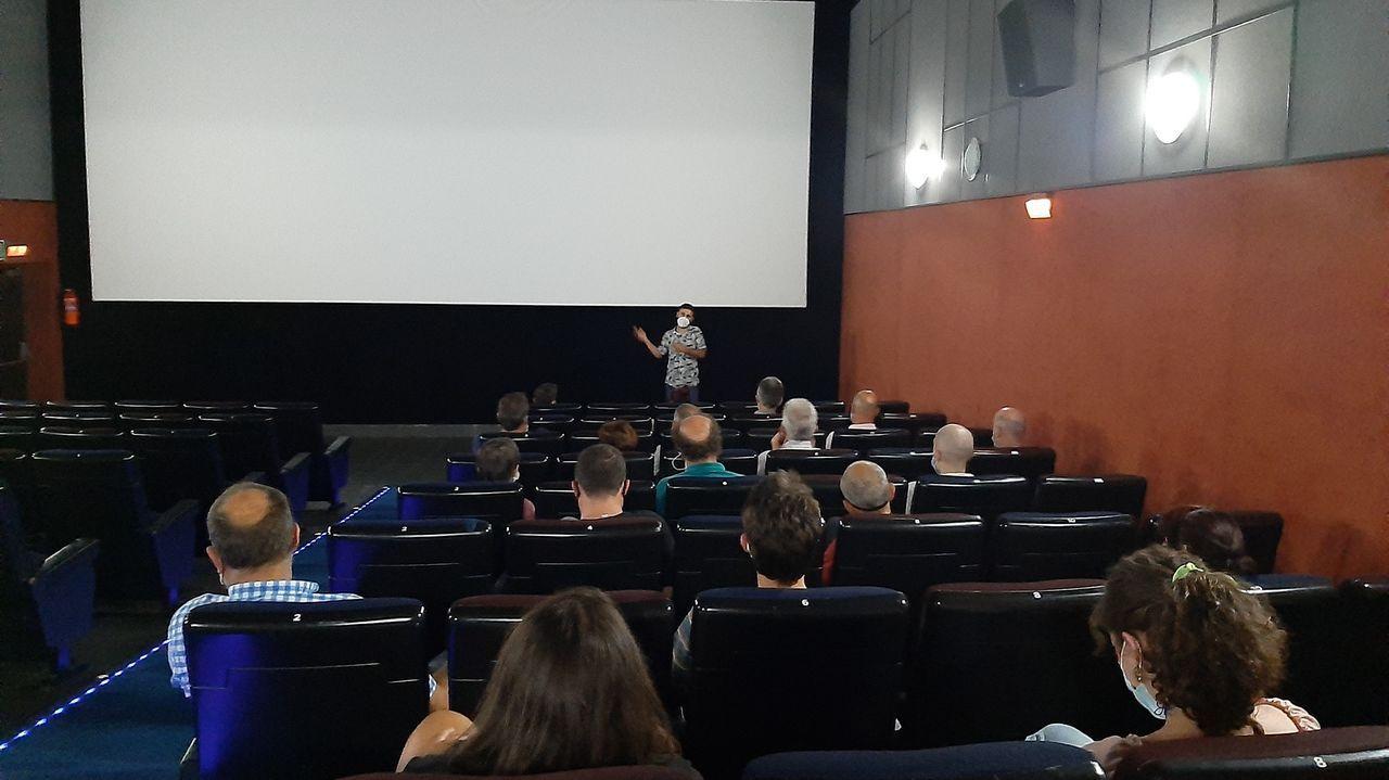 Proxección nos Codex Cinema coas novas restriccións pola covid-19