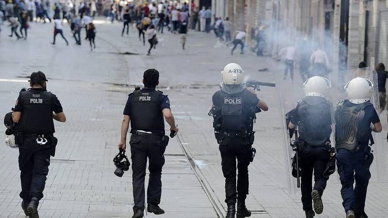 Disturbios en Estambul.Manuel Valls