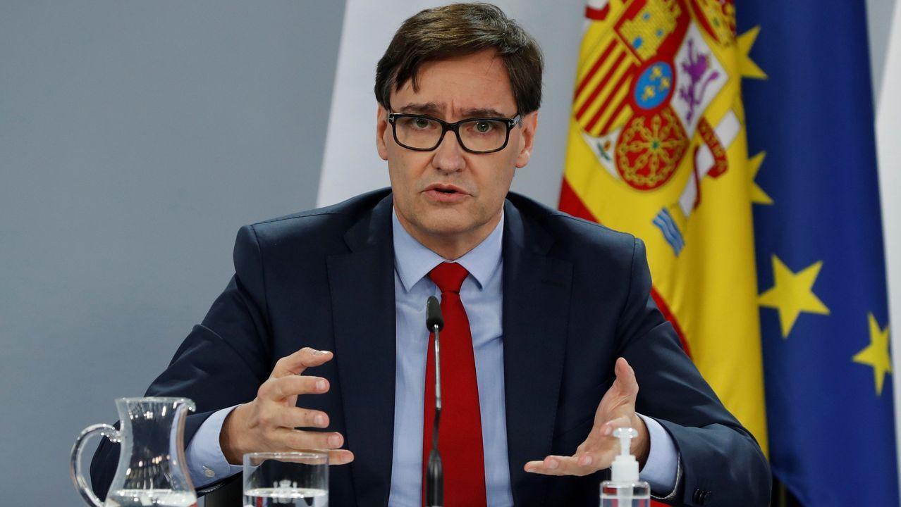 Iceta y Darias juran sus cargos como nuevos ministros.José María Vergeles es el consejero de Sanidad de Extremadura
