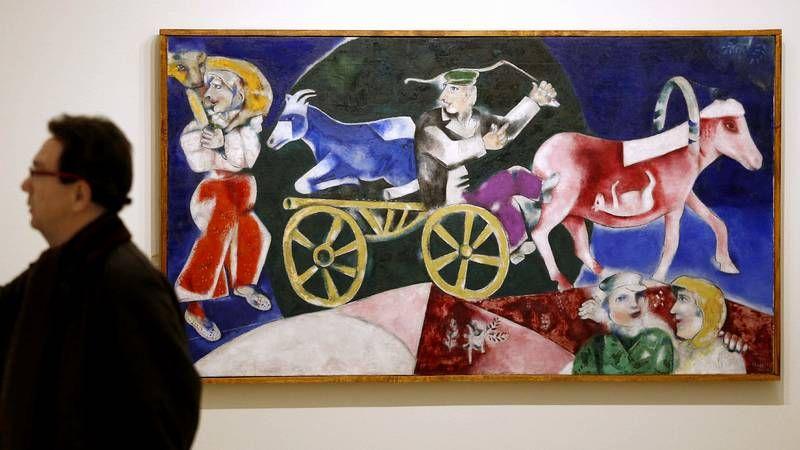 Las diez obras de arte más caras de la historia.«El vendedor de Ganado» (1922-1923