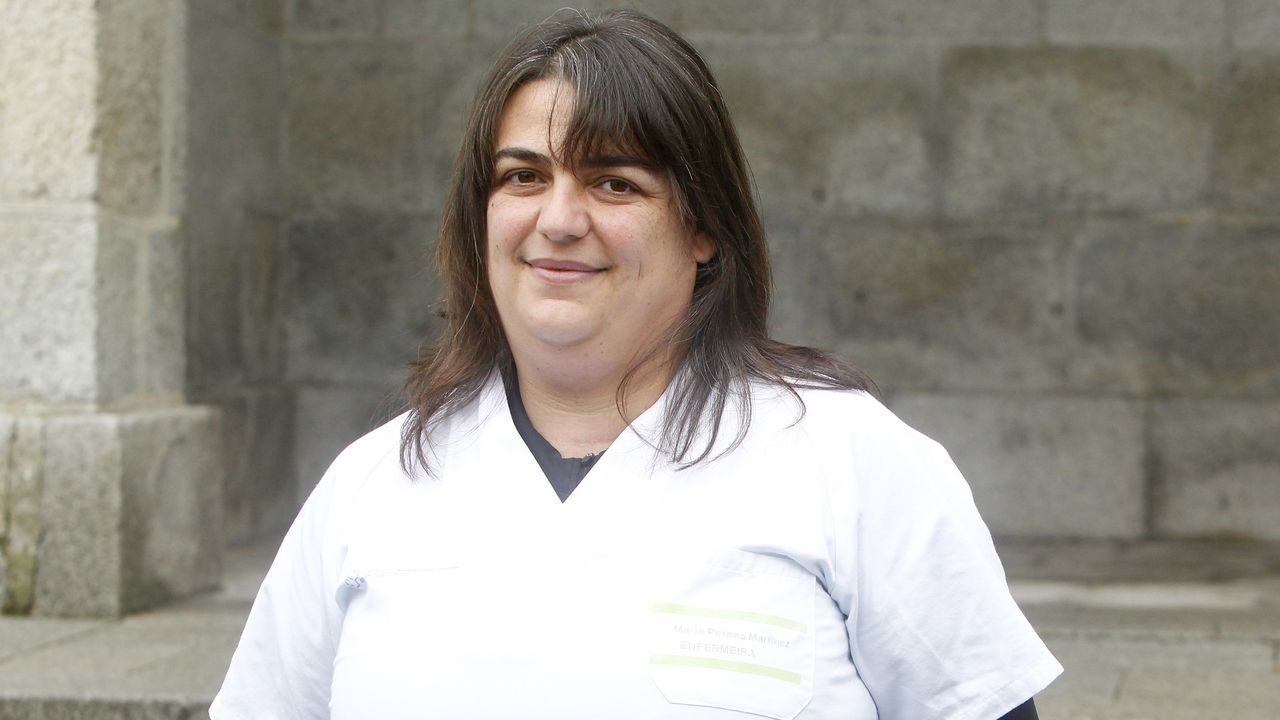 María Jesús Pernas Martínez, enfermera del equipo covid