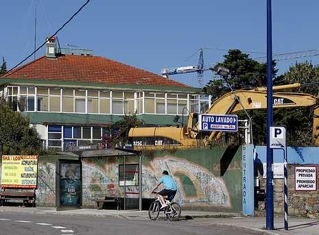 El secreto de las patatas del McDonald's.El edificio derribado era una de las últimas viviendas unifamiliares de estilo racionalista.