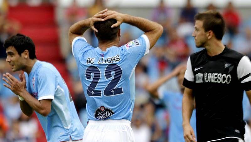 Vídeo de los goles y las mejores jugadas del partido Celta 2-Osasuna 0.De Lucas se lamenta de una ocasión que tuvo en el primer tiempo. Después marcó el tanto vigués.