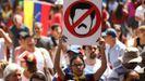 Venezuela se echa a la calle para reclamar elecciones libres