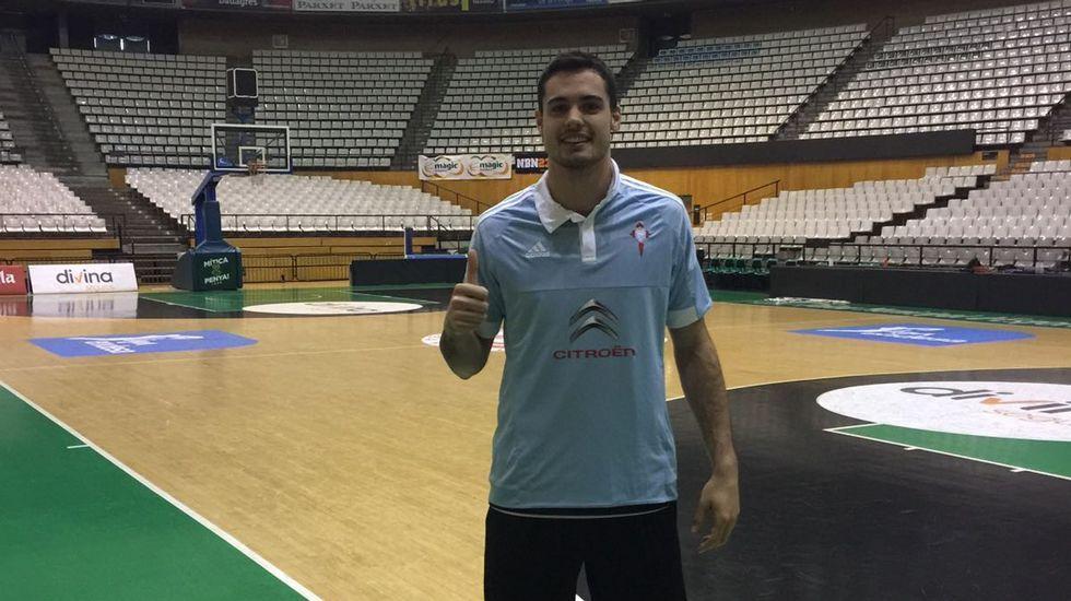 El baloncestista Alberto Abalde