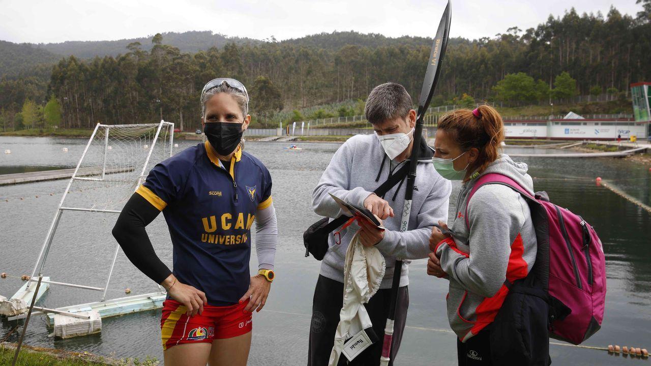 La medallista olímpica se clasificó en Verducido para sus sextos Juegos