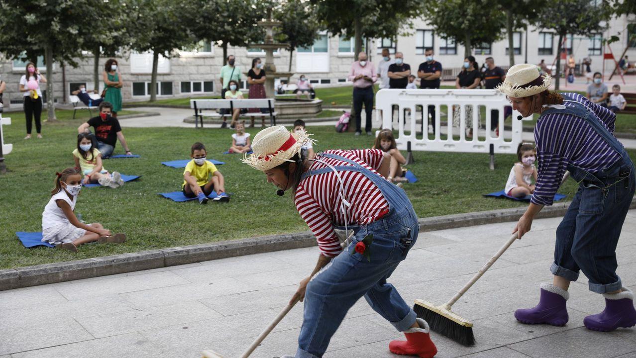 25N en A Coruña: «A violencia machista aumentou coa pandemia».Trécola Teatro presenta «Sen medo»