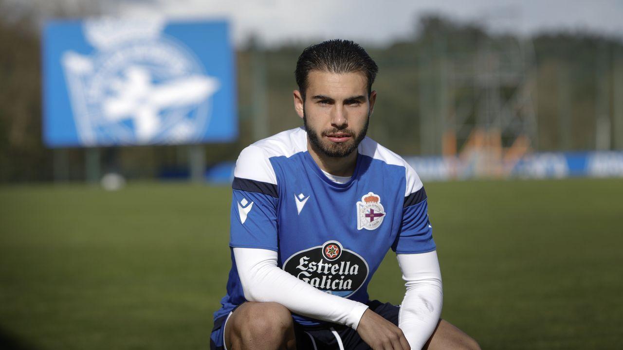 Todas las imágenes del Sevilla-Celta.José Alonso Lara, en la ciudad deportiva de Abegondo