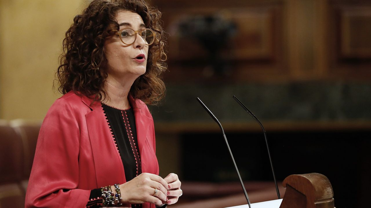 La selección española de baloncesto ya está en España.La ministra de Hacienda, María Jesús Montero