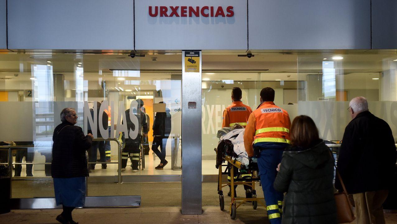 Personal de la Residencia de Mayores Portazgo pide a los familiares que se queden en casa a ritmo de cumbia.Algunos de los ponentes del simposio sobre patologías del envejecimiento, este lunes en el Chuac