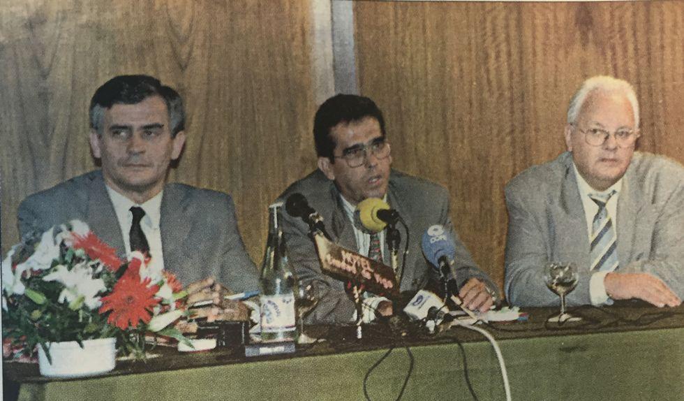 Ejecución en Irán de varios ladrones, en una fotografía de archivo.