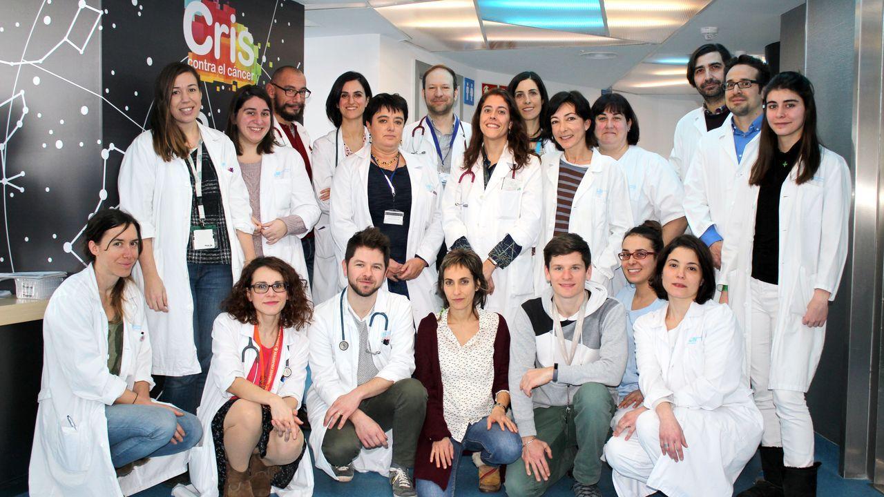 EL equipo de investigación de la Unidad CRIS de terapias Avanzadas del Hospital La Paz.El equipo de investigación de la Unidad CRIS de terapias Avanzadas del Hospital La Paz