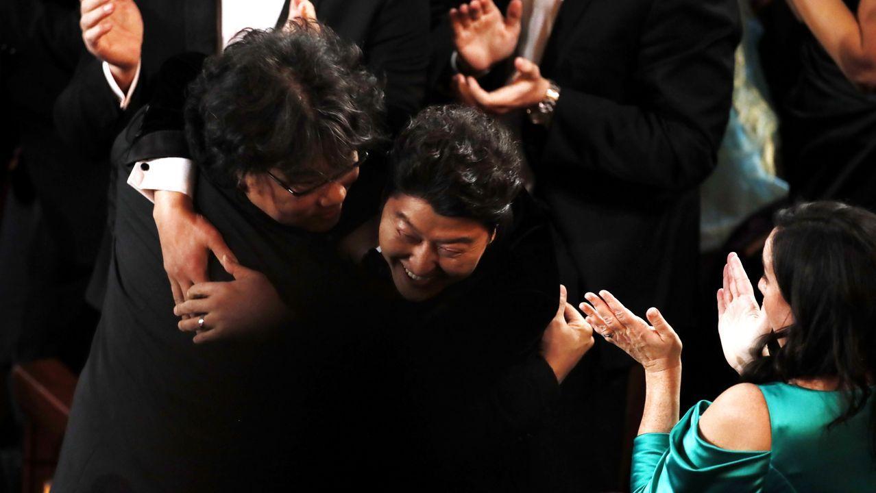 La reacción de Bong Joon Ho al ganar el Óscar a mejor película