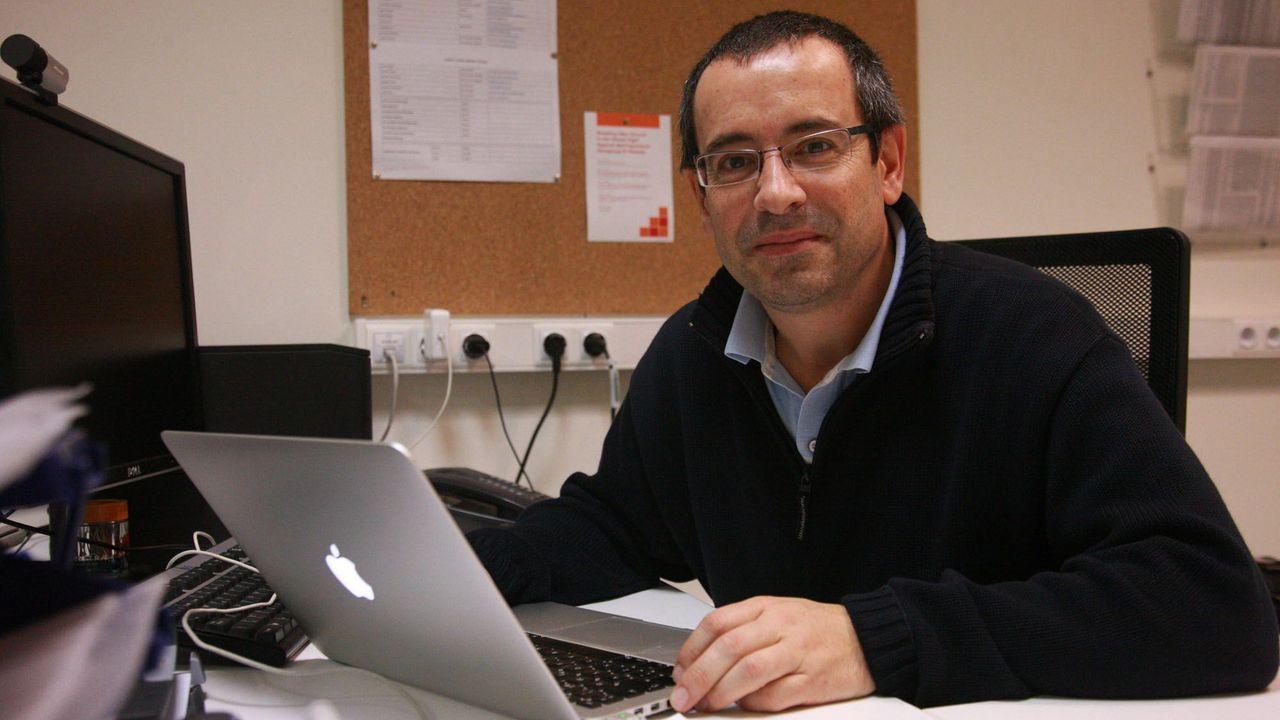 Antonio Salas, investigador de genética del CHUS y profesor en la Facultad de Medicina de la USC