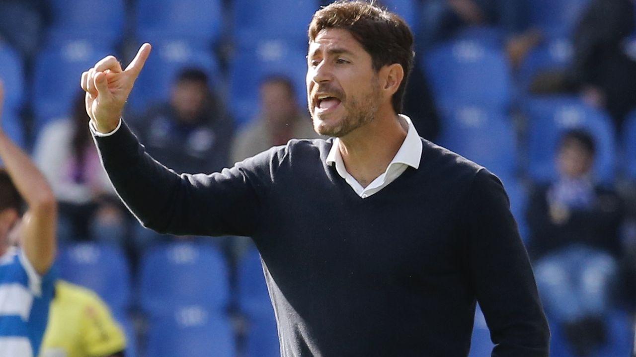 La jornada definitiva de la sesión de investidura, en imágenes.Los jugadores del Oviedo celebran el 0-1 de Borja Sánchez